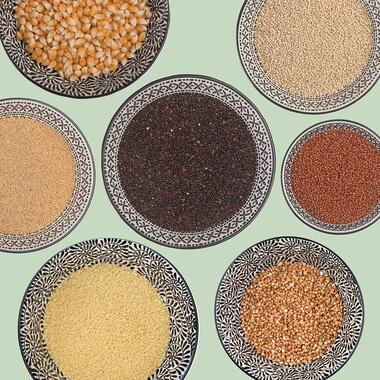 Getreide, Pseudogetreide, Stärken