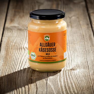 Allgäuer Bio Käsesoße - die Milde