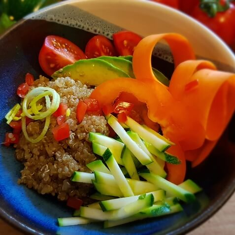 Quinoa Bowl Rezeptbild